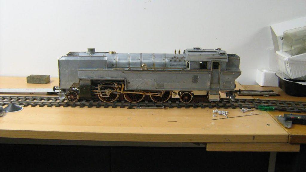 DSB damplokomotiv litra S fra Tikøb Støberi