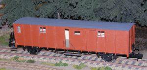 Rejsegogsvogn HNJ F3 761 og 762.