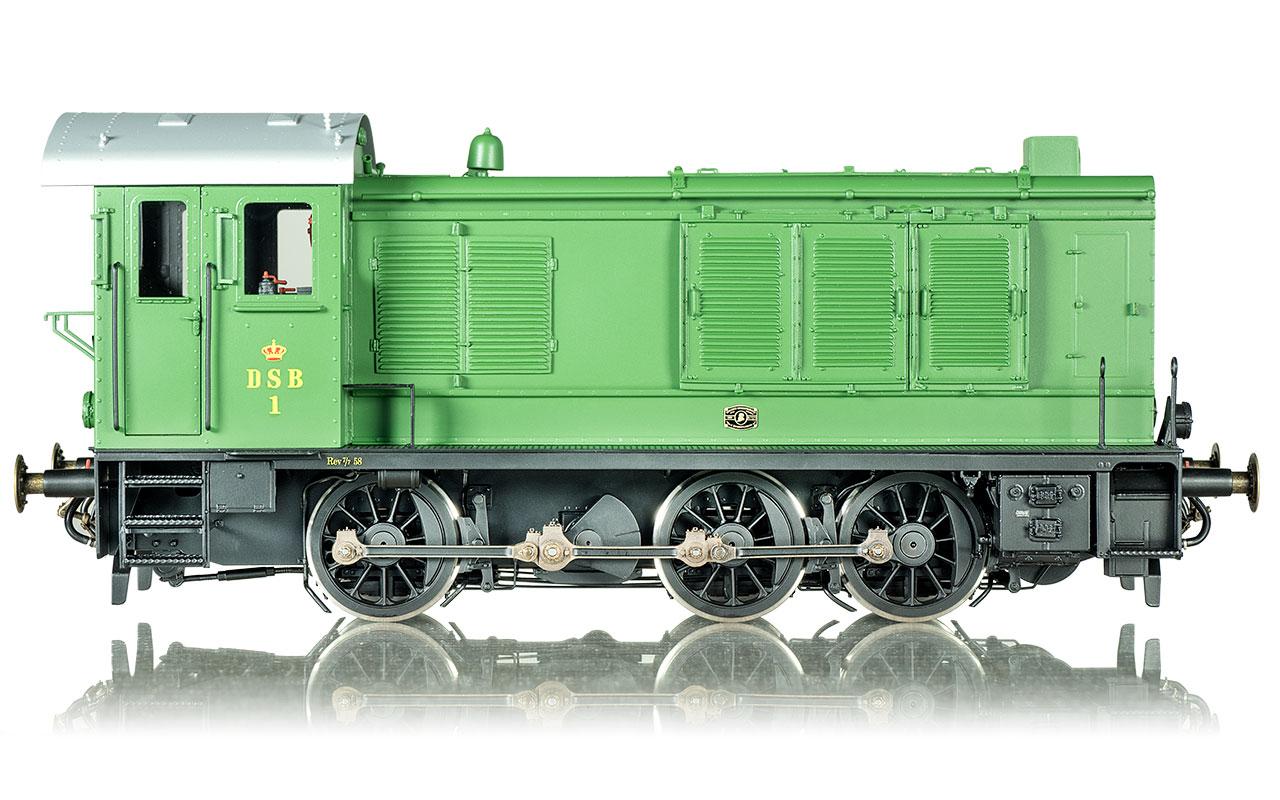 DSB Traktor 1 - Foto: Dingler