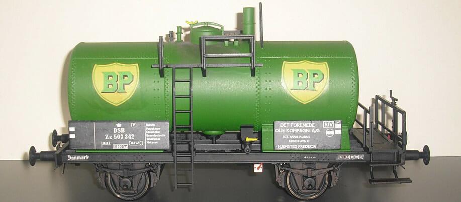 BP jernbanetankvogn DSB litra ZE nr. 503 042