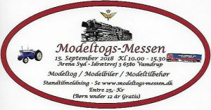 Modeltog-Messen i Vamdrup den 15. september 2018