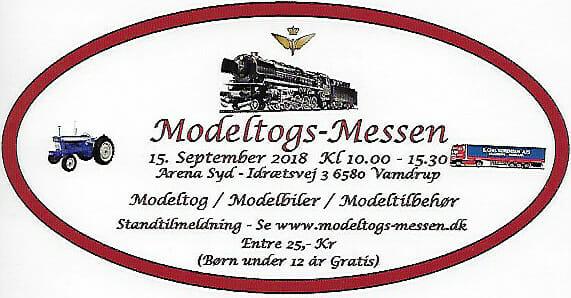 Modeltog-Messen i Vamdrup den 15. september 2018