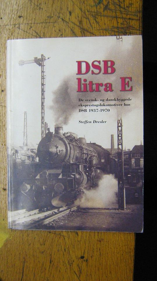 DSB litra E fra Tikøb Støberi