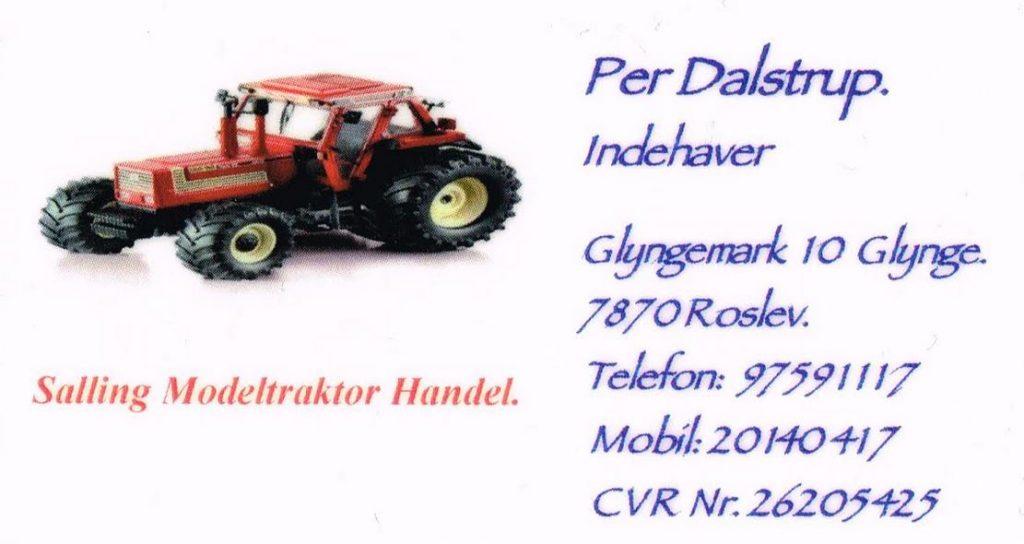 Salling Modeltraktor Handel
