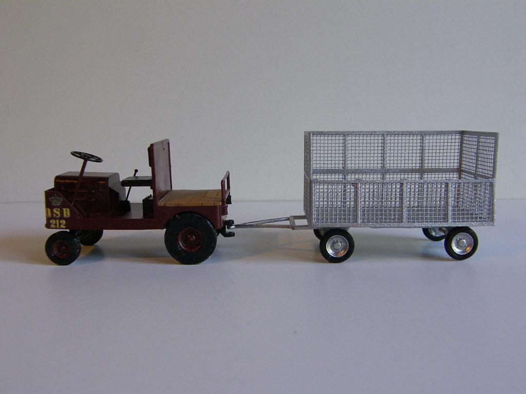 4D Trains - perrontraktor