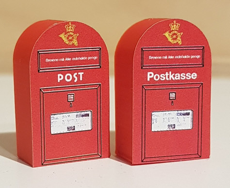 Postkasser fra skilteskoven.dk