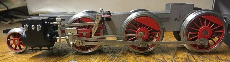 DSB D Chassis - Tikøb Støberi