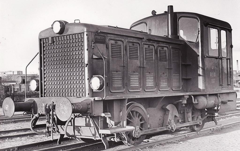 DSB Ardelt Traktor Nr. 117 - Arkiv Steffen Dresler