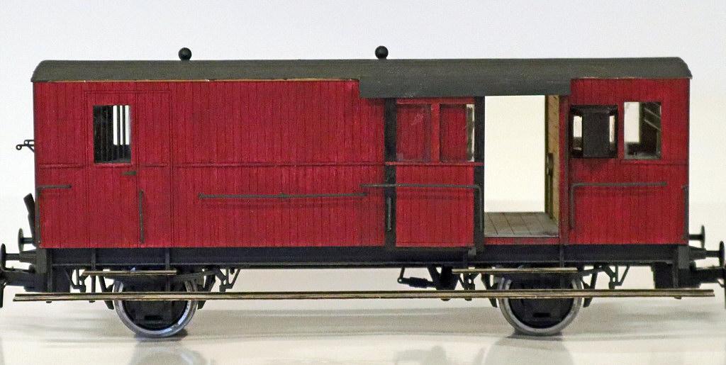 DSB litra Eh rejsegodsvogn fra Proinor.dk Foto: Arild Tangerud