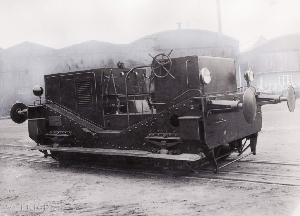 Frichs traktor 72 - Arkiv Steffen Dresler