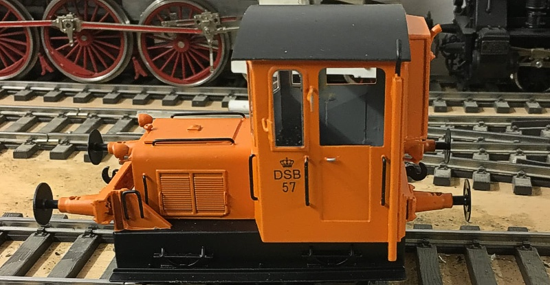 DSB Traktor 57 - Tikøb Støberi