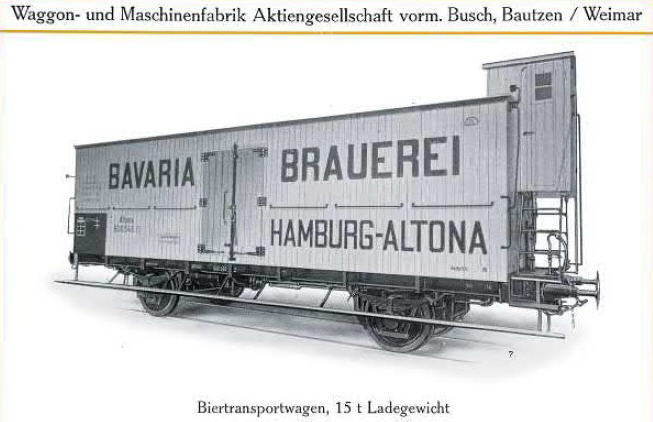 Fabriksfoto Bautzen af 4,0 m afkølingsvogn - Arkiv Steffen Dresler