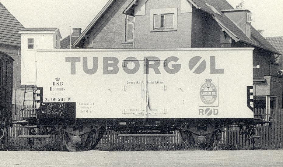 DSB litra ZB 99 594 - 99 599, Tuborg, stor Bautzen ca. 1950. Arkiv MFL.