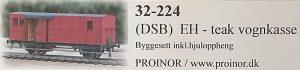 DSB litra Eh rejsegodsvogn (Foto: Arild Tangerud)