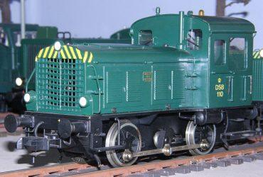 DSB Ardelt Nr. 110 bygget af Verner Nielsen