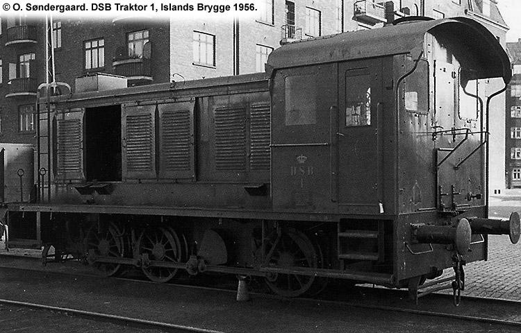 DSB Traktor 1 - Jernbanen.dk